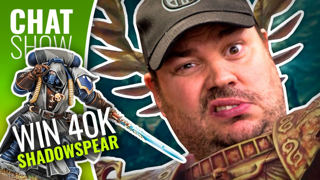 Weekender: Win 40K Shadowspear & GW TOP TRUMP?