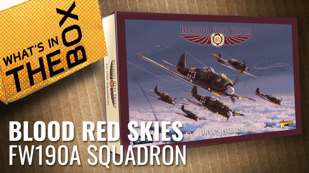 Blood Red Skies Unboxing: FW190A Squadron