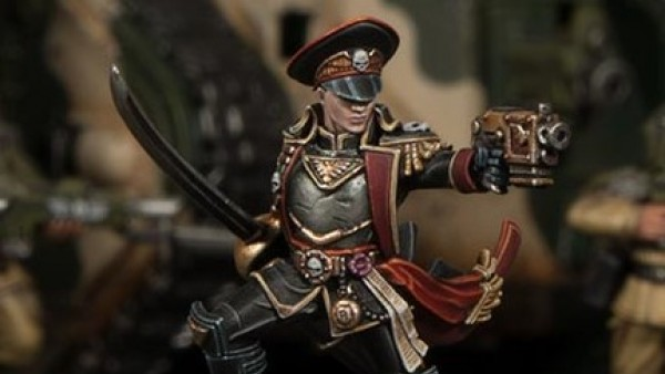 GW Showcase New Commissar For Black Library Celebrations