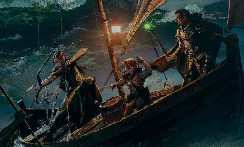Take On Seabound Adventures In D&D Ghosts Of Saltmarsh