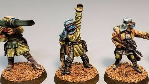 Khurasan Miniatures Showcase New Scav Tribes