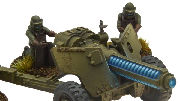 Warlord Games Unveil Tesla Anti-Tank Gun