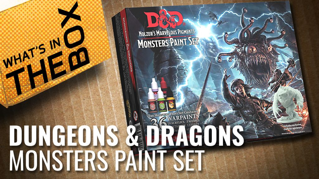 Unboxing: Dungeons & Dragons Monsters Paint Set