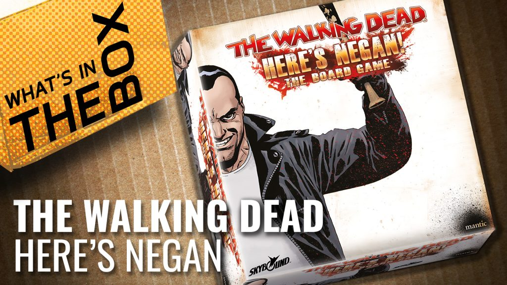 Unboxing: The Walking Dead - Here's Negan