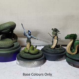 Green Scales - Python, Echidna, Basilisk, Cecrops, Medusa, Colchidian Dragon, and the Hydra