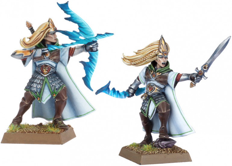 From Warhammer Fantasy High Elf Sisters of Avalon