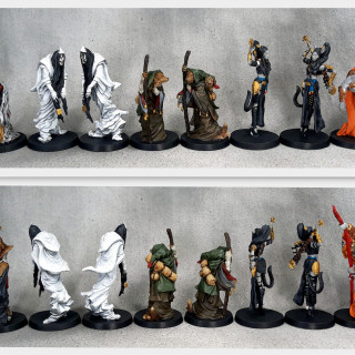Monsters and additional miniatures