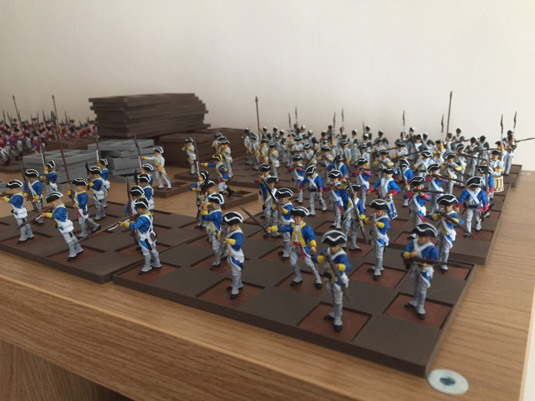 continental army almost finished