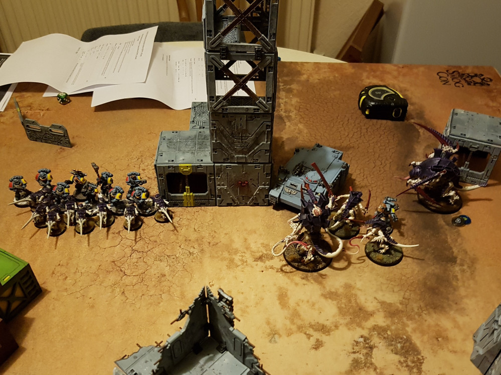 Playing With Myself: A 40K Solo Play & Solo Learn Experience