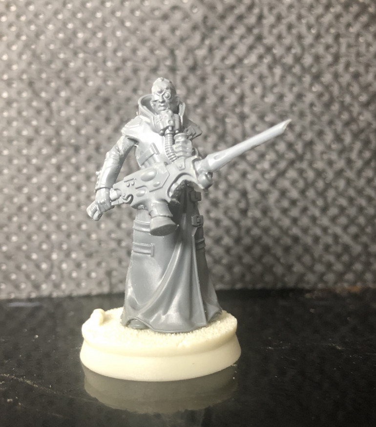 Needles converted from the unused Death Jester's gun and a Harlequin needle pistol.