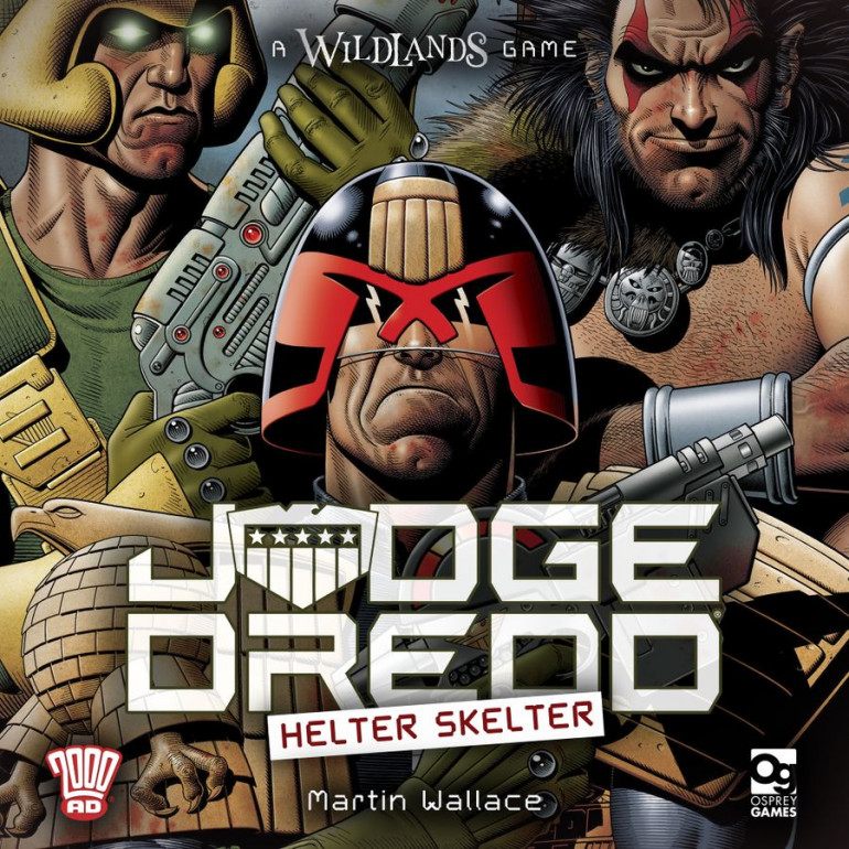 Judge Dredd: Helter Skelter Announced By Osprey Games