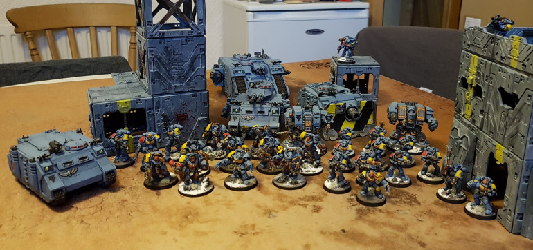 Space Wolves Finished