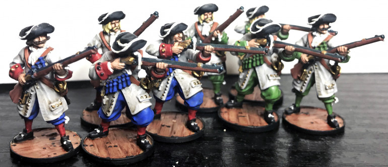 French Regular Infantry