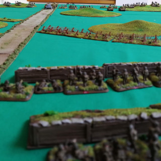 Battle Report - Operation Fischfang (Turns 1 and 2)