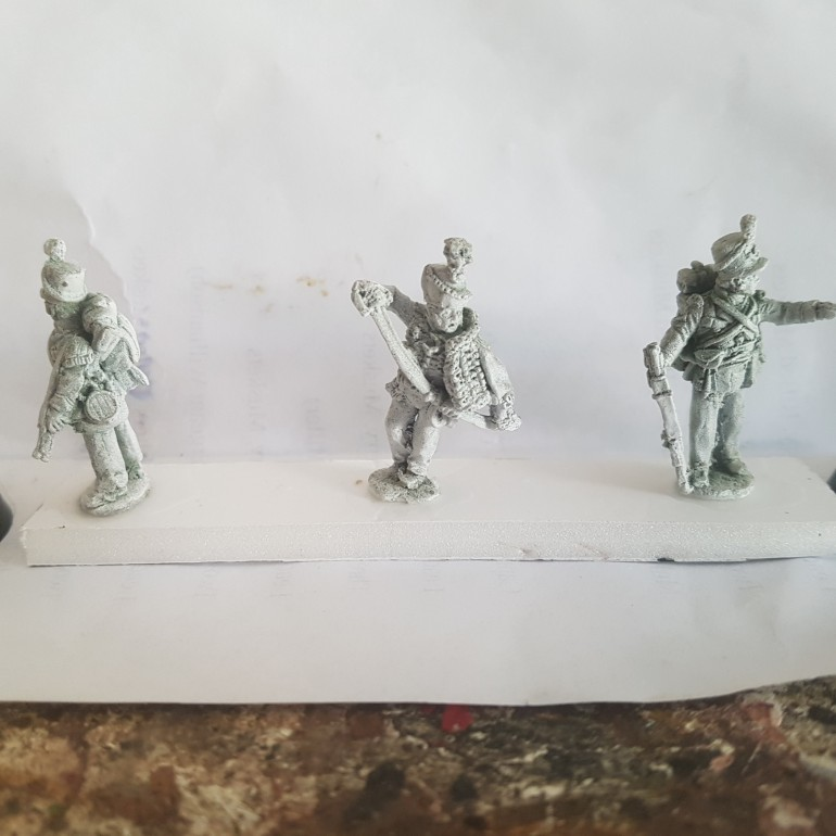 These Miniatures will be Made into a Jump Off Point since I have Duplicates.