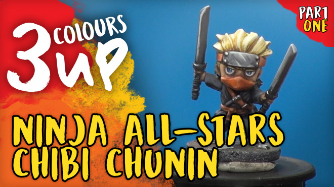 3 Colours Up: Ninja All-Stars Chibi Chunin [Part One]