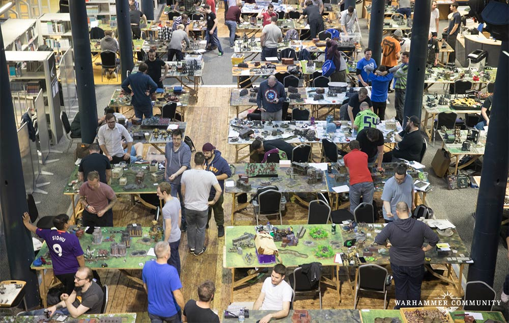 40K & Age Of Sigmar Tournaments - UK Games Expo