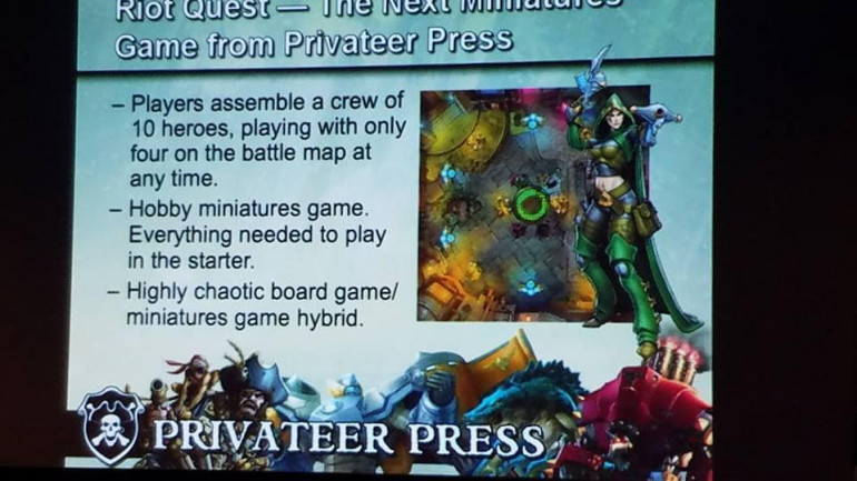Sneak Look At Riot Quest From Privateer Press