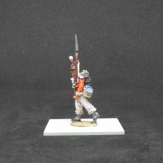 Painting British Line Infantry