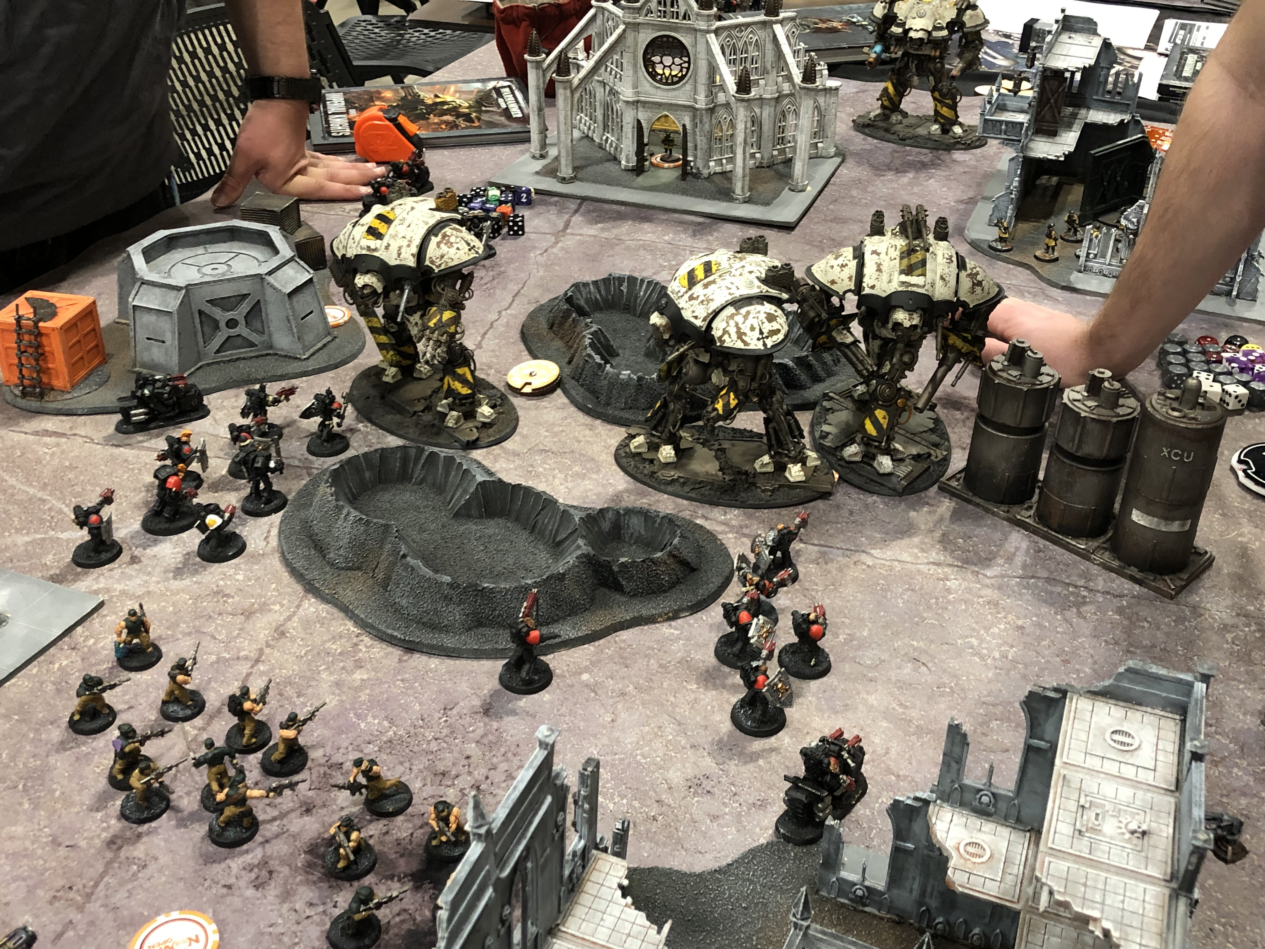 Warhammer 40K On The Table  – OnTableTop – Home of Beasts of War