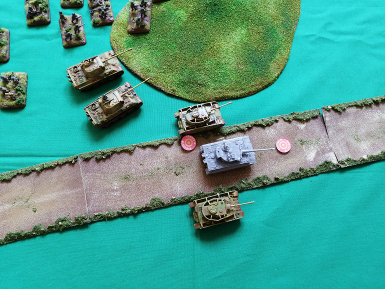 The artillery and naval fire arrives