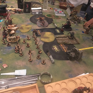 The Warmachine/Hordes final is on its way to the end