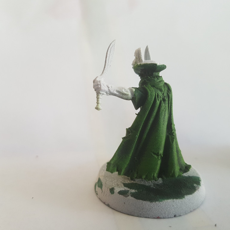 Painted with Citadel Moot Green