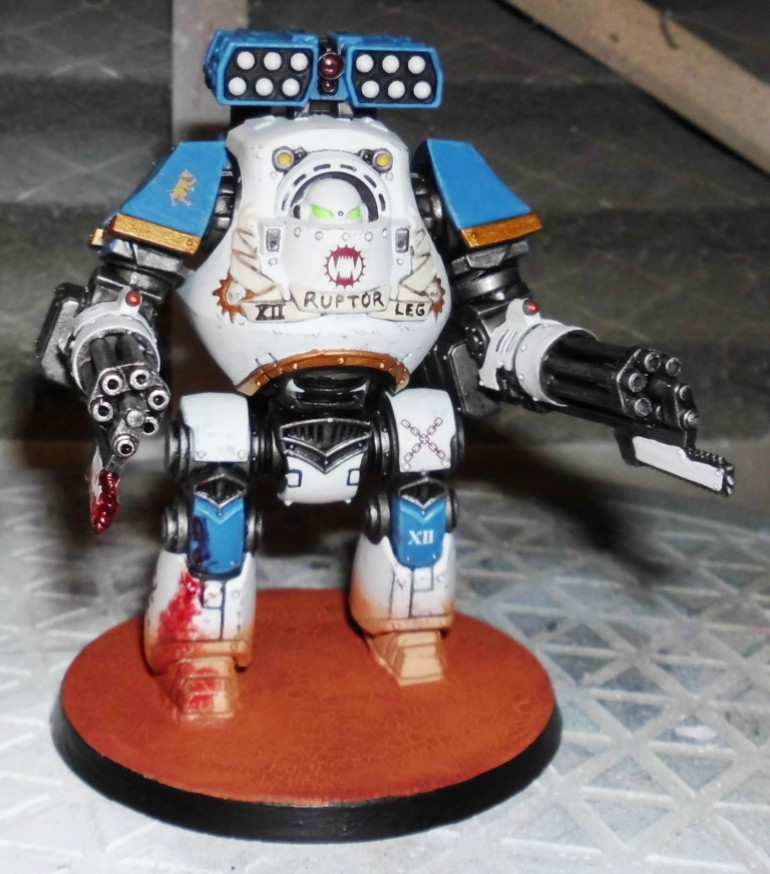 150th day: 3. Block 1st model: Mortis Contemptor