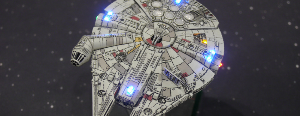 Color change LED Millennium Falcon, MORE PLEASE!!!