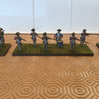 So trying out my 12, 8, 6,4 and 2 man bases, that I printed out.