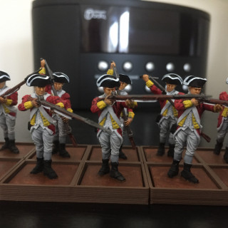And second unit of British completed
