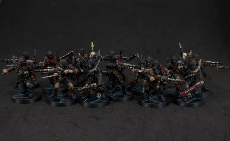 Traitor Guard Finished