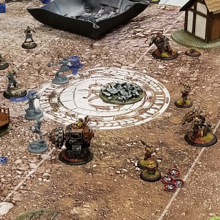 Guild Ball Games Underway