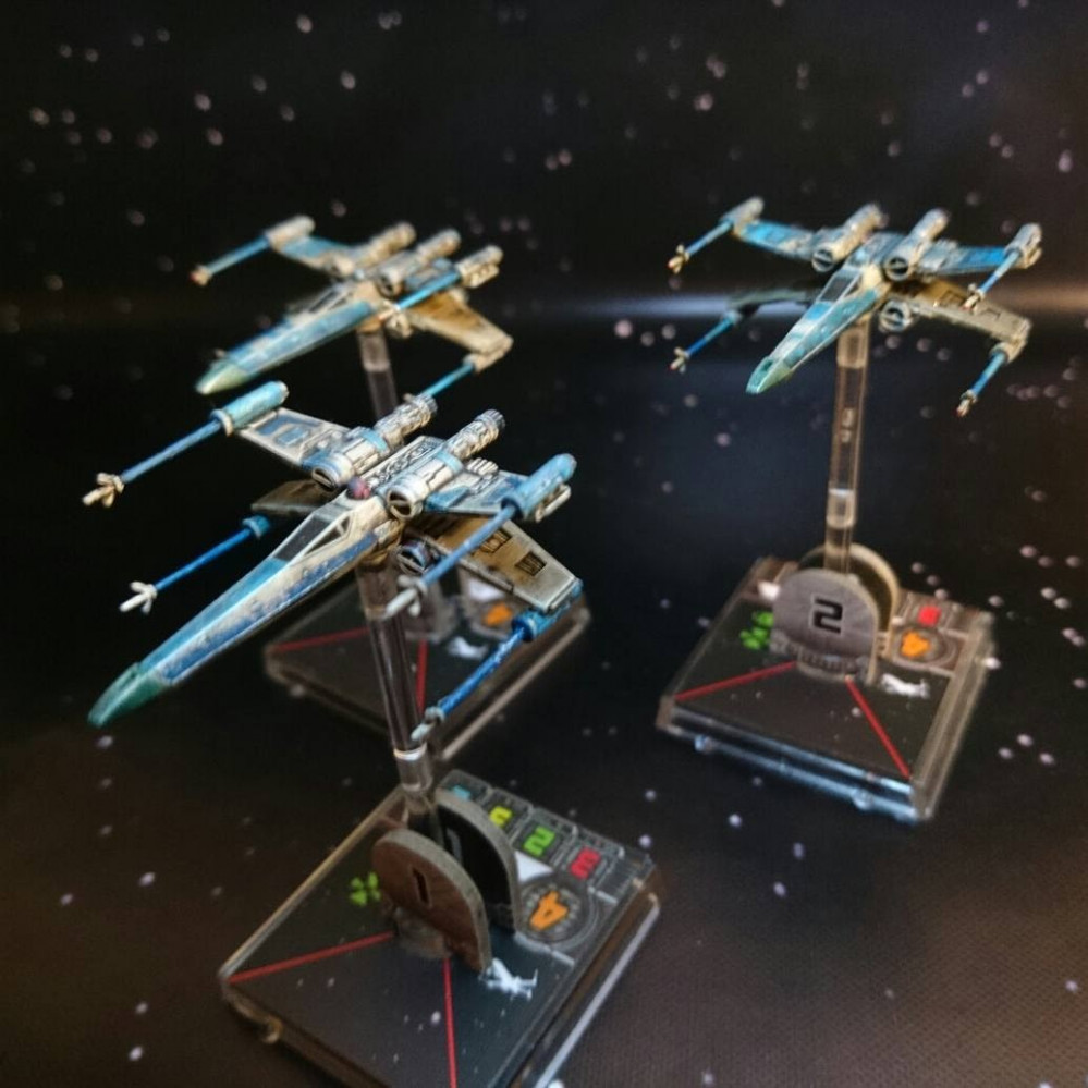Angel Squadron Campaign – Combining X-Wing, Imperial Assault, Armada, Legion and Star Wars FFG RPG