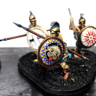 Update on My Greeks force for Mortal Gods.