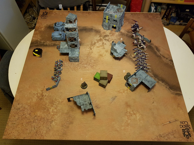 Both sides after deployment, but before the objectives were rolled for and removed