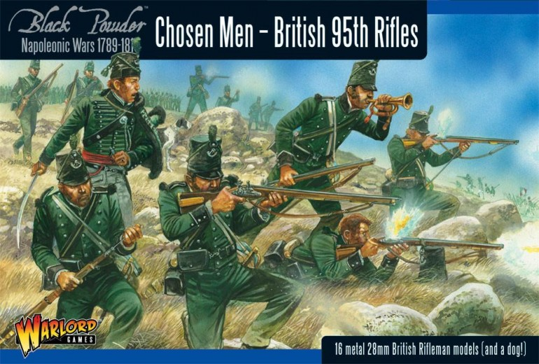 Warlord Games Napoleonic Rifles Box. I don't have any of them but the Artwork is too Good to Leave Out.