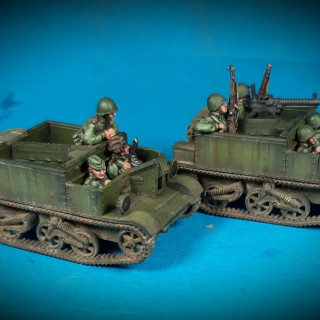 Soviet Lend-Lease Universal Carriers
