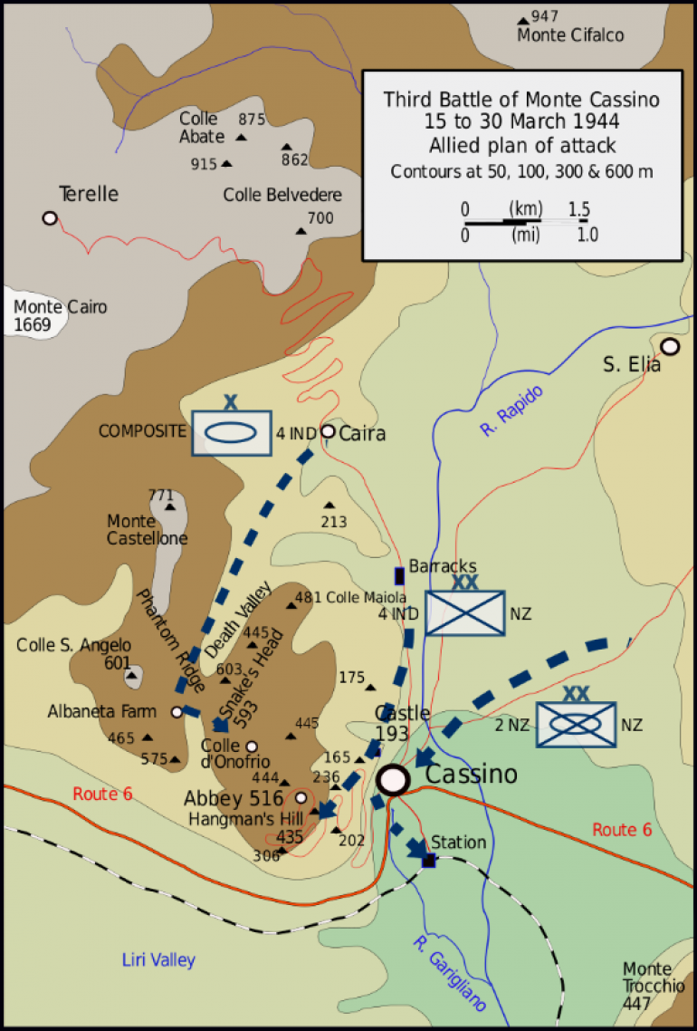 The Proposed Plan of Attack Including the Key Defensive Points