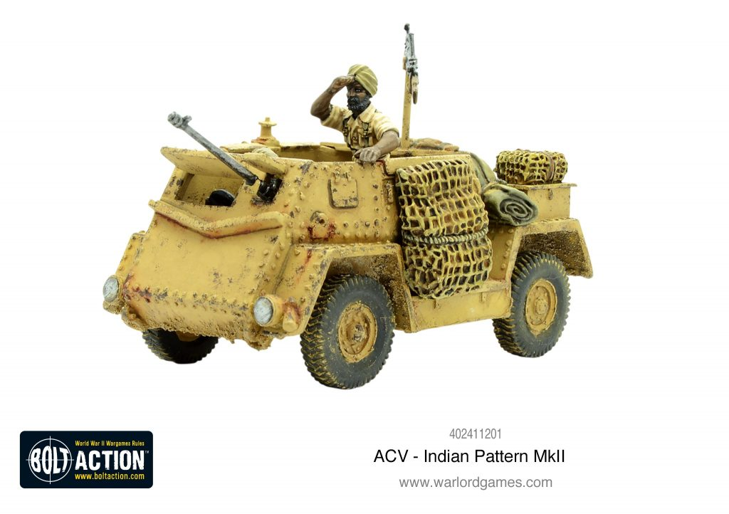 ACV Indian Pattern Mk II - Warlord Games