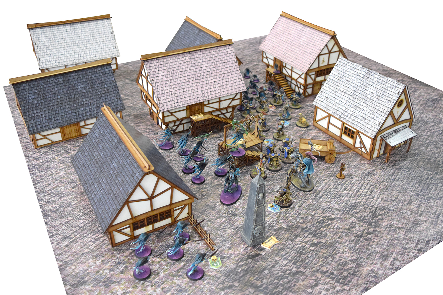 Cover Age of Sigmar's Mortal Realms In Banduas Buildings And Tokens