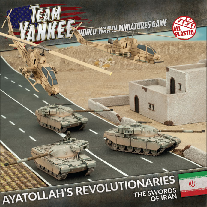 Ayatollah's Revolutionaries - Battlefront Miniatures