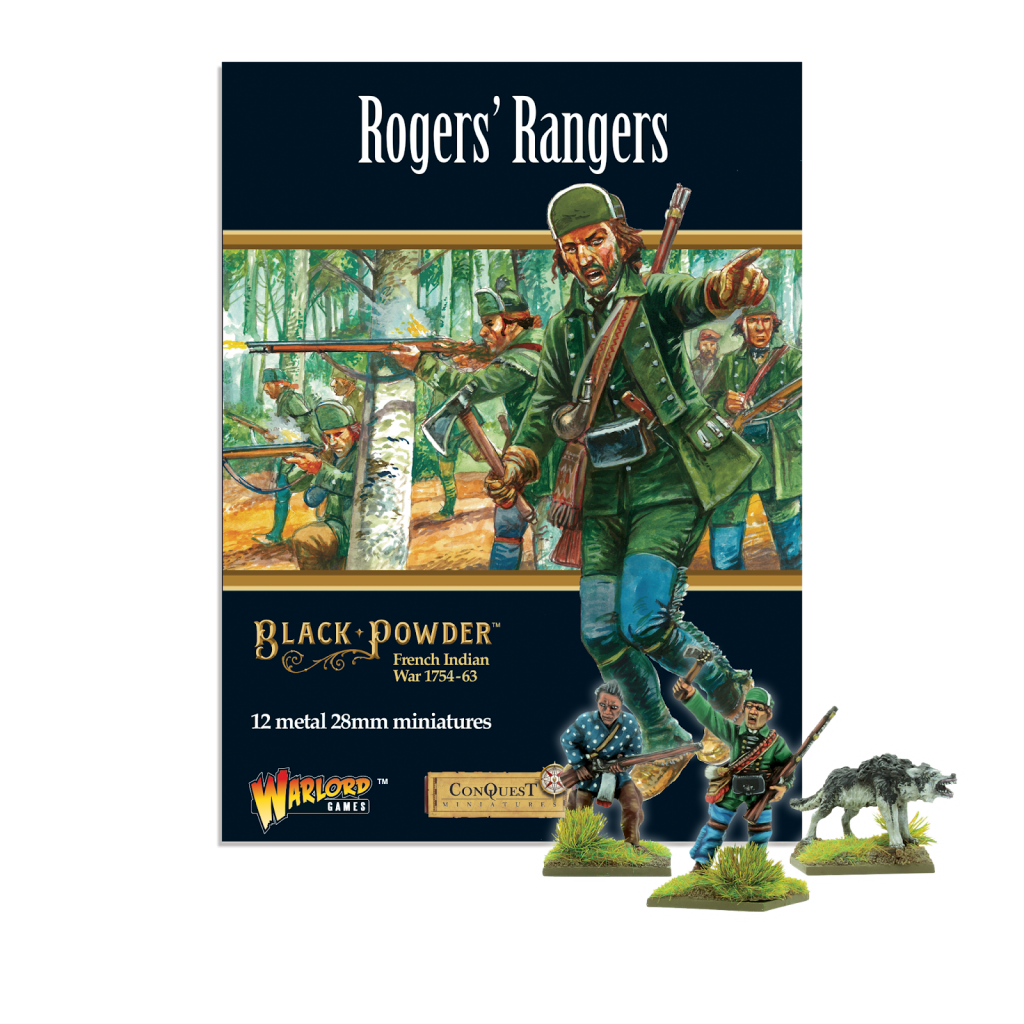 Black Powder Roger's Rangers - Warlord Games