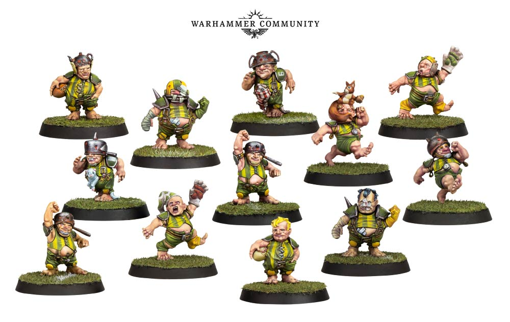 Blood Bowl Halflings - Games Workshop