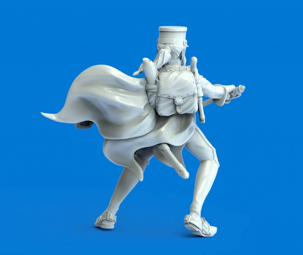 Bluecoat Soldier (Alt) - Durgin Paint Forge