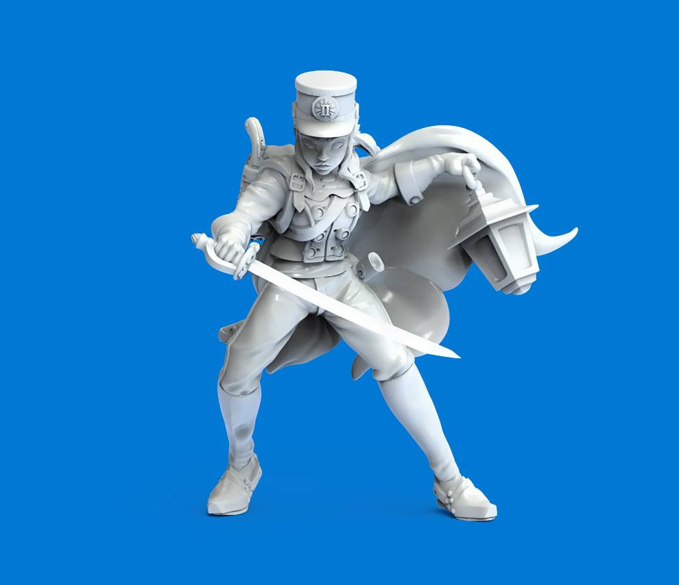 Bluecoat Soldier - Durgin Paint Forge