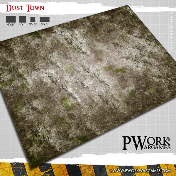 Dust Town Game Mat #1 - PWork Wargames