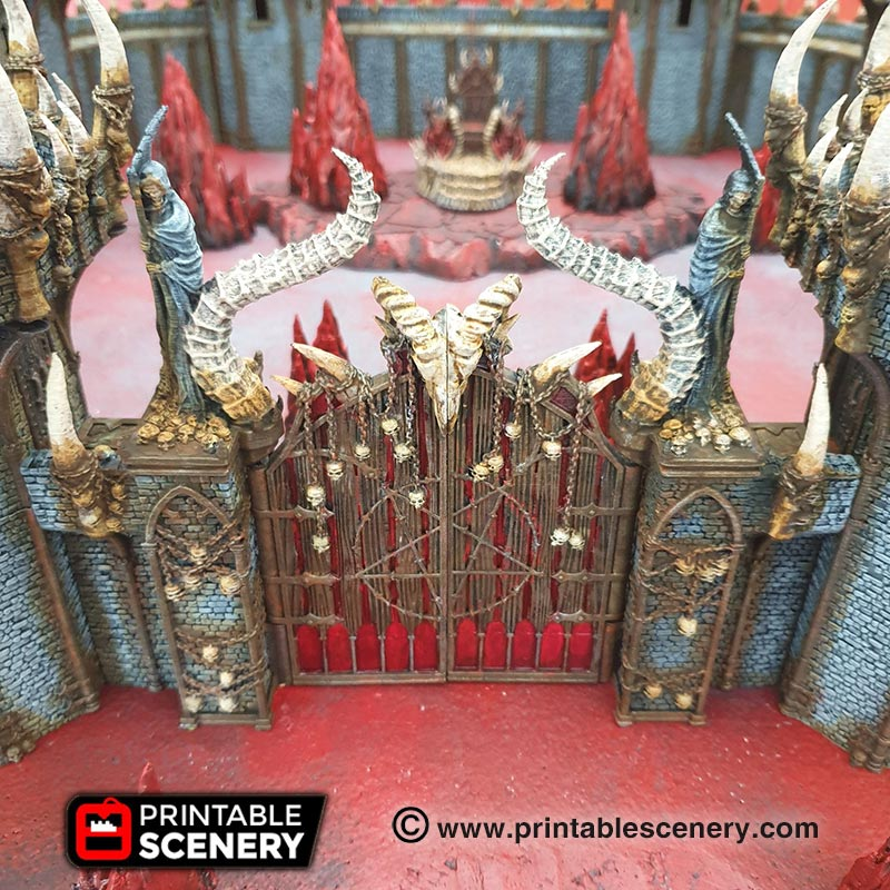 Stand Before The Gates Of Doom From Printable Scenery – OnTableTop
