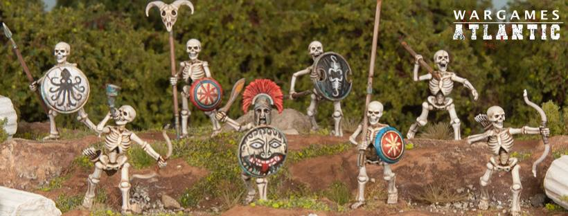 Greek Skeletons (Painted) - Wargames Atlantic