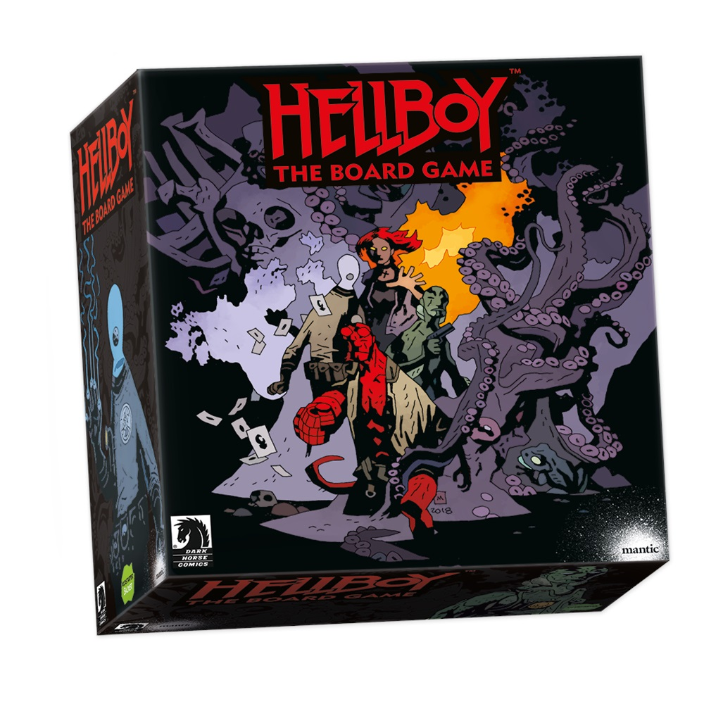 Hellboy The Board Game Collector's Edition - Manic Games